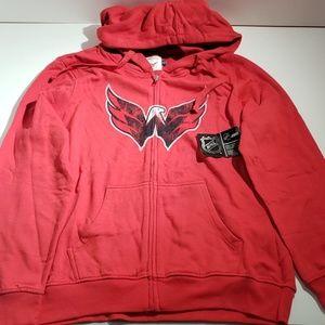 the best attitude bec31 c4644 Women Washington Capitals Sweatshirt on Poshmark